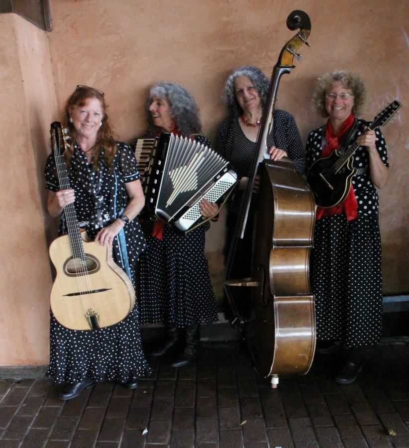 Haute Flash Quartet Music Page Photo